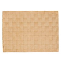 "13"" x 18"" Natural Florence Woven Look Placemat"