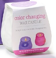 "4"" LED Color Changing Wax Votive Candle"