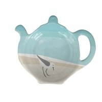 "4"" Sandpipers Melamine Tea Bag Holder"