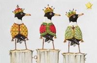 "Box of 16 5"" x 9"" Three Gull Kings Christmas Cards"