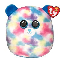 """14"""" TY Squish-A-Boos Hope the Pastel Bear"""