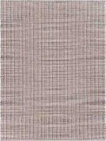2' x 3' Bleached Natural and Gray Fiber Rug