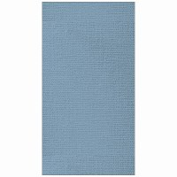 """5"""" x 8"""" Blue Canvas Embossed Guest Towels"""