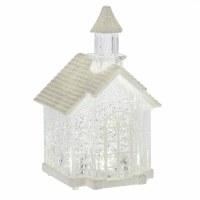 "5"" LED Mini Acrylic Shimmer Church"