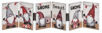 """19"""" Gnome Sweet Gnome Hinged Panel Sign"""