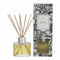 4 oz Dahlia and White Musk Reed Diffuser Kit