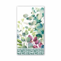 """8"""" x 4"""" Eucalyptus and Mint Guest Towels"""
