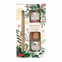 Joy To The World Reed Diffuser and Votive Candle Set