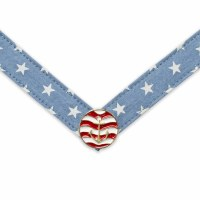 Large Saylor Red White and Blue Anchor Strap