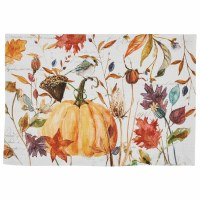 """13"""" x 19"""" Multicolor Harvest Home Fabric Placemat"""