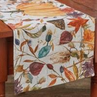 "36"" Multicolor Harvest Home Table Runner"