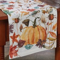 "54"" Multicolor Harvest Home Table Runner"