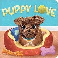 Puppy Love Finger Puppet Book