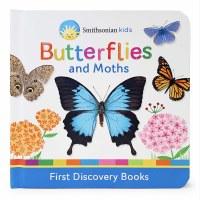 Smithsonian Kids Butterflies and Moths Book