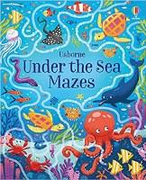 Under The Sea Mazes Book