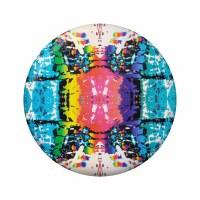 "8"" Round Rainbow Dye Wingman Pro"