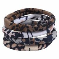Set of 4 Safari Hair Ties