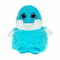 "5"" Izzy the Dolphin Pom Pals Plush Toy"