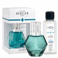 Blue Geometry Lamp Gift Set