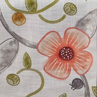 """15"""" x 72"""" Coral Flower Cara Table Runner"""