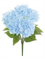 "21"" Blue Natural Touch Hydrangea Bush"