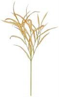 "35"" Faux Burgundy Rust Reed Grass Spray"