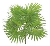 "17"" Faux Green Natural Touch Fountaun Palm Planr"