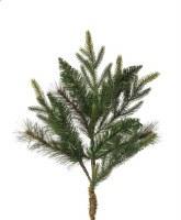 """24"""" Faux Green Colorado Mixed Pine Spray"""