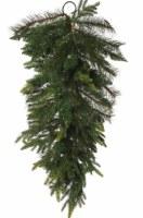 """36"""" Faux Dark Green Colorado Mixed Pine Drop"""