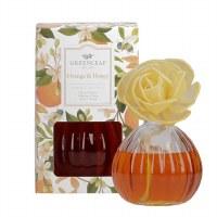 8 oz Orange and Honey Flower Diffuser