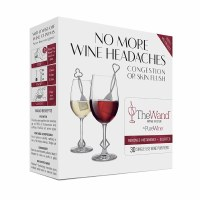 """Pack of 30 6"""" Silver Wine Wands"""