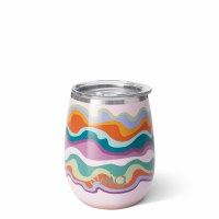 14 oz Swig Sand Art Insulated Stemless Wine Cup