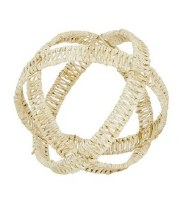 """9"""" Round Natural Wicker Open Weave Orb"""