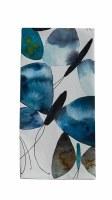 """26"""" x 18"""" Dark Blue Butterfly Kitchen Towel"""