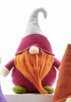 """11"""" Red Radish Veggie Gnome"""