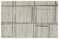 3.3' x 5' Beige and Blue Gray Alton Rug 501Z