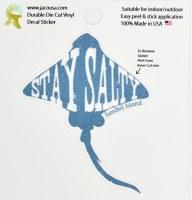 "4"" Stay Salty Sanibel Island Sticker"