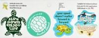 "Set of 4 2"" Sanibel Island Turtle Stickers"