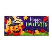 """10"""" x 22"""" Jolly Jack Happy Halloween Sassafras Switch Doormat"""