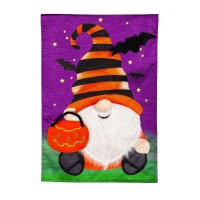 Mini Halloween Gnome Flag