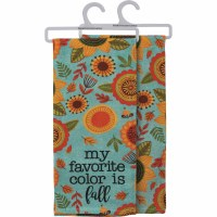 """28"""" My Favorite Color is Fall Kitchen Towel"""
