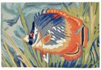 """30"""" x 48"""" Ocean Tropical Fish Ravella Rug"""