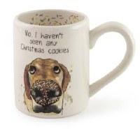 13 oz Christmas Cookies Dog Mug