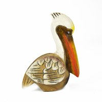 "7"" x 5"" Brown and White Pelican"