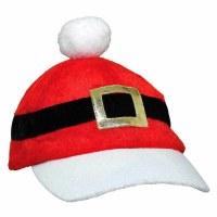 """10"""" Plush Santa Baseball Cap"""