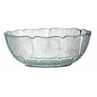 "4.5"" Round Glass Fleur Bowl"