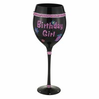 20 oz Birthday Girl Wine Glass