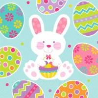 """5"""" Square Easter Enchantment Beverage Napkins"""