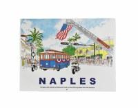 2020 Colored Naples Calendar