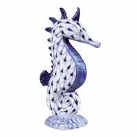 "5"" Blue Net Seahorse Firgurine"